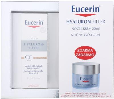 Eucerin Hyaluron-Filler lote cosmético X.