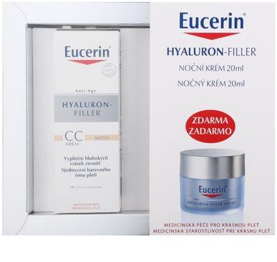 Eucerin Hyaluron-Filler козметичен пакет  XI.