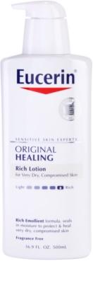 Eucerin Original Healing výživné telové mlieko  pre veľmi suchú pokožku