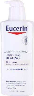Eucerin Original Healing поживне молочко для тіла для дуже сухої шкіри