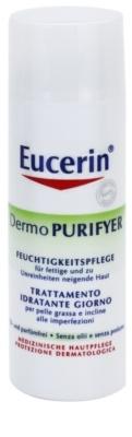 Eucerin Dermo Purifyer creme matificante para pele problemática, acne