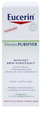 Eucerin Dermo Purifyer crema matificante para pieles problemáticas y con acné 3