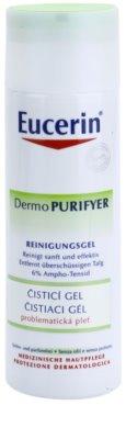 Eucerin Dermo Purifyer gel de limpeza para pele problemática, acne