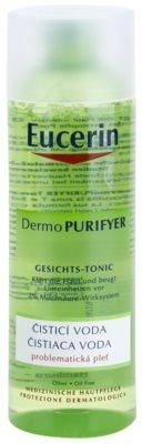 Eucerin Dermo Purifyer água de limpeza para pele problemática, acne