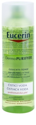 Eucerin Dermo Purifyer tisztító víz problémás és pattanásos bőrre