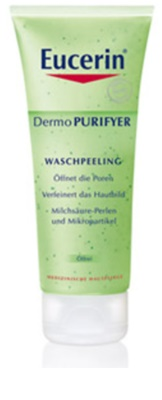 Eucerin Dermo Purifyer esfoliante de limpeza para pele problemática, acne