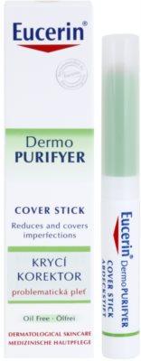 Eucerin Dermo Purifyer corrector cubre imperfecciones para pieles problemáticas y con acné 2