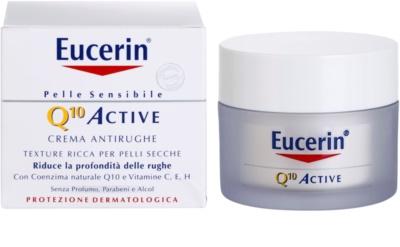 Eucerin Q10 Active kisimító krém a ráncok ellen 1