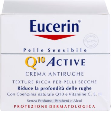 Eucerin Q10 Active kisimító krém a ráncok ellen 2