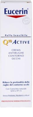 Eucerin Q10 Active creme de olhos antirrugas SPF 15 2