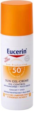 Eucerin Sun захисний кремовий гель для обличчя SPF 50+