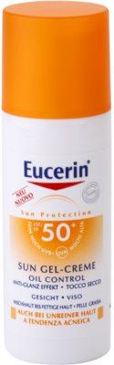 Eucerin Sun gel cremoso protetor facial SPF 50+