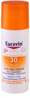 Eucerin Sun ochranný krémový gel na obličej SPF 30