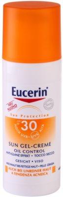 Eucerin Sun schützende Gel-Creme für das Gesicht SPF 30