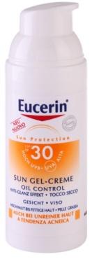 Eucerin Sun crema-gel cu efect de protectie a fetei SPF 30 1