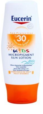 Eucerin Sun Kids слънцезащитен лосион за деца със защитни микропигменти SPF 30