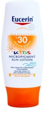 Eucerin Sun Kids losjon za sončenje za otroke z zaščitnimi mikropigmenti SPF 30