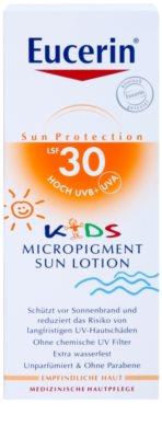 Eucerin Sun Kids слънцезащитен лосион за деца със защитни микропигменти SPF 30 2