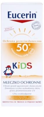 Eucerin Sun Kids schützende Hautmilch für Kinder SPF 50+ 3