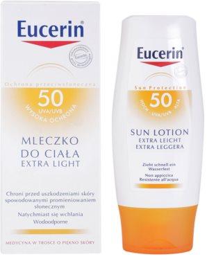 Eucerin Sun extra leichte Bräunungslotion SPF 30 1