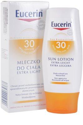 Eucerin Sun extra leichte Bräunungslotion SPF 30 2