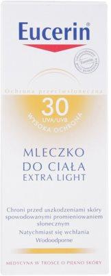 Eucerin Sun extra leichte Bräunungslotion SPF 30 3