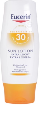 Eucerin Sun Protetor solar extra leve para o corpo SPF 30