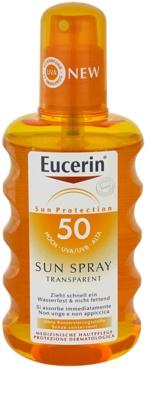Eucerin Sun spray solar transparente SPF 50