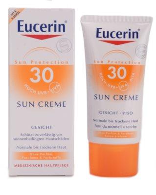 Eucerin Sun schützende Gesichtscreme SPF 30 1