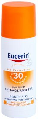 Eucerin Sun Védő fluid ráncok ellen SPF 30