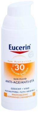 Eucerin Sun zaščitni fluid proti gubam SPF 30 1