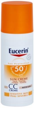 Eucerin Sun crema CC SPF 50+