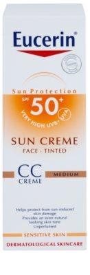 Eucerin Sun CC Creme SPF 50+ 3