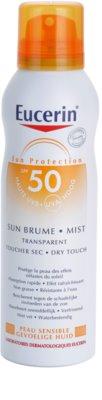 Eucerin Sun spray bronceador transparente SPF 50