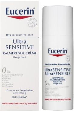 Eucerin UltraSENSITIVE creme apaziguador para pele seca 2