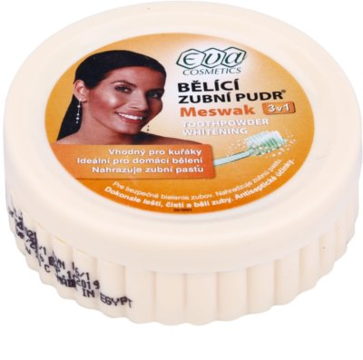 Eva Meswak bělicí zubní pudr 3 v 1