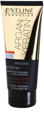 Eveline Cosmetics Argan + Keratin балсам 8 в 1