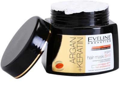 Eveline Cosmetics Argan + Keratin маска для волосся 8 в 1 1