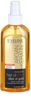 Eveline Cosmetics Argan + Keratin aceite capilar 8 en 1