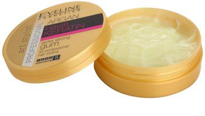 Eveline Cosmetics Argan + Keratin екстра силна гума За коса 1