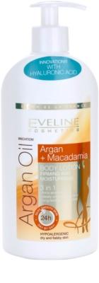 Eveline Cosmetics Argan Oil hydratačné a spevňujúce telové mlieko