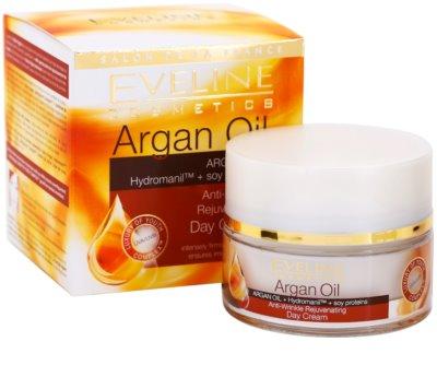 Eveline Cosmetics Argan Oil verjüngende Tagescreme gegen Falten 2