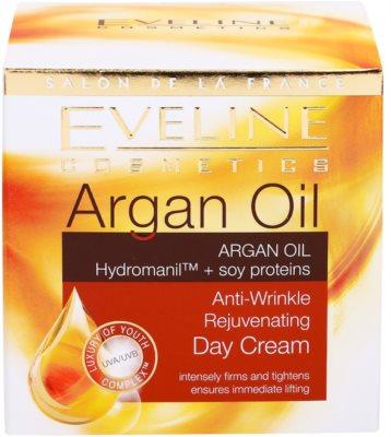 Eveline Cosmetics Argan Oil verjüngende Tagescreme gegen Falten 3