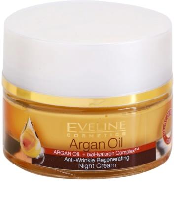 Eveline Cosmetics Argan Oil regeneráló éjszakai krém a ráncok ellen