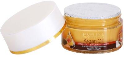 Eveline Cosmetics Argan Oil regeneráló éjszakai krém a ráncok ellen 1