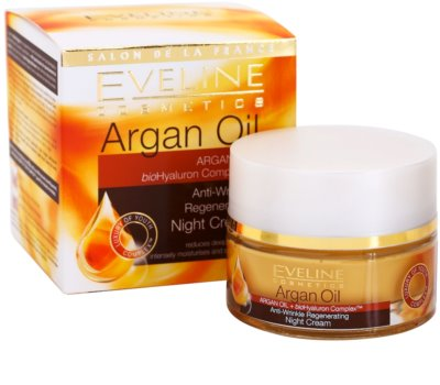 Eveline Cosmetics Argan Oil regeneráló éjszakai krém a ráncok ellen 2