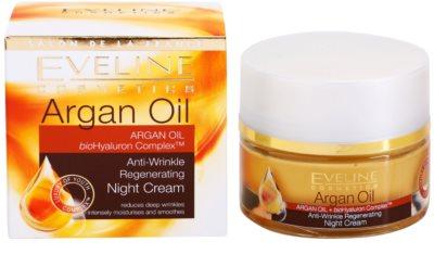 Eveline Cosmetics Argan Oil regeneráló éjszakai krém a ráncok ellen 3