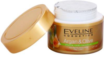 Eveline Cosmetics Argan & Olive hidratáló nappali krém a ráncok ellen 1
