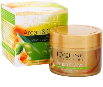 Eveline Cosmetics Argan & Olive hydratační denní krém proti vráskám 2