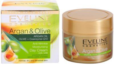 Eveline Cosmetics Argan & Olive hidratáló nappali krém a ráncok ellen 3